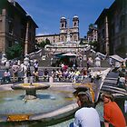 Italy Rome Spanish Steps by Luigi Petro