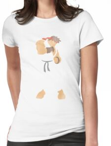Project Silhouette 2.0: Ryu Womens Fitted T-Shirt