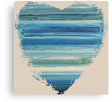 The Unbecoming - Abstract Heart II Canvas Print