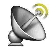 Satellite Antenna Apple / WhatsApp Emoji by emoji