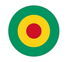 Guinean Air Force - Roundel Photographic Print