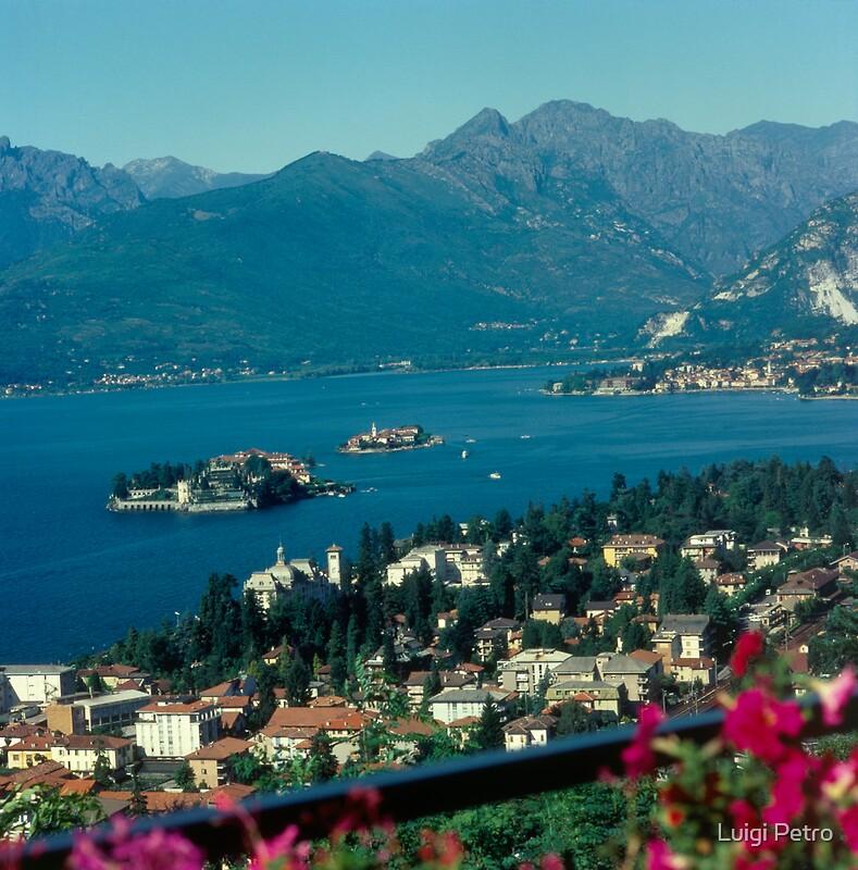 Italy lake maggiore stresa posters by luigi petro for Stresa lake maggiore