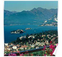 Italy Lake Maggiore Stresa Poster