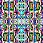 Abstract Pattern of Colors by Phil Perkins