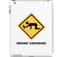 Drunk Crossing iPad Case/Skin
