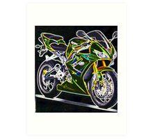 Triumph Daytona 675 Art Print