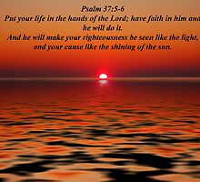 Psalm 37:5-6 by Michael Reimann