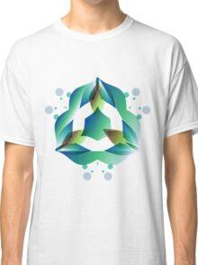 Water Flowers Classic T-Shirt