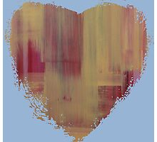 Warrior Heart - Abstract Heart II Photographic Print