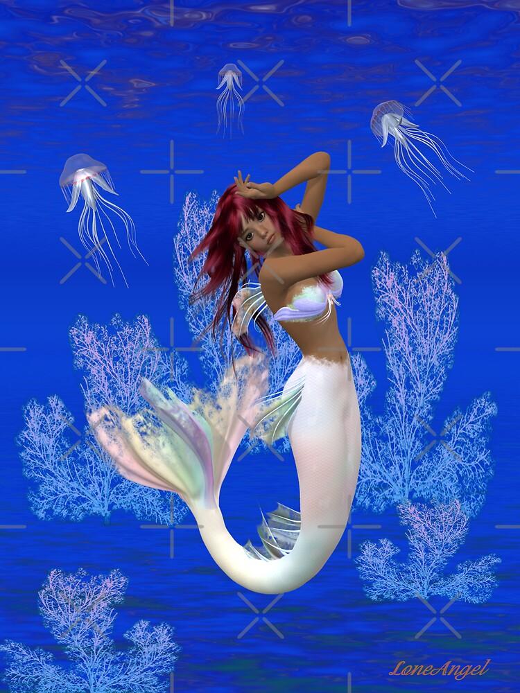 The mermaid .. Rainy by LoneAngel