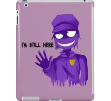 Purple Guy iPad Case/Skin