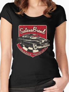 SatansBrand Kustom Kulture Women's Fitted Scoop T-Shirt