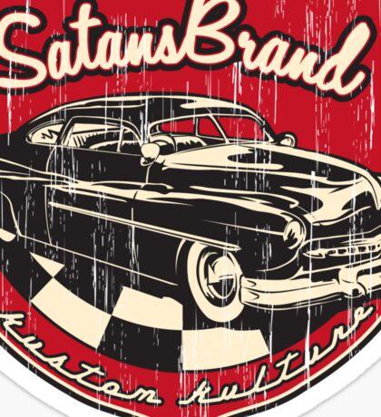 SatansBrand Kustom Kulture Sticker