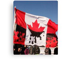 Canada's Oil Sands  Canvas Print