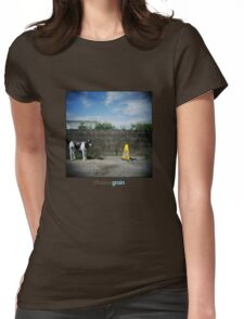 Holga Cow Womens Fitted T-Shirt