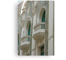 Ornate Architecture Details Canvas Print