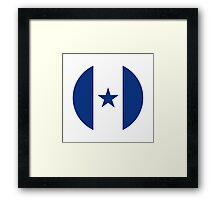 Honduran Air Force - Roundel Framed Print