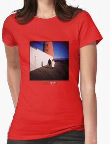 Holga Lighthouse Womens Fitted T-Shirt