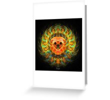 'Heart of Gold' Greeting Card