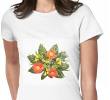 wedding bouquet of freesia Womens Fitted T-Shirt