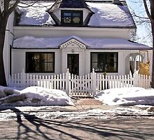 Most everyone's dream - a house with a picket fence! by Shulie1