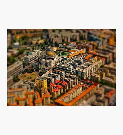 Aerial photography - Rome Photographic Print
