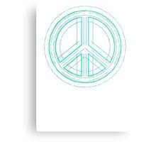 Peace Sign Symbol Abstract 1 Metal Print