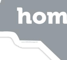 NC HOME GREY Sticker