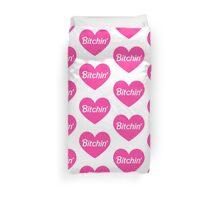 Bitchin' Barbie Pink Heart Design Duvet Cover