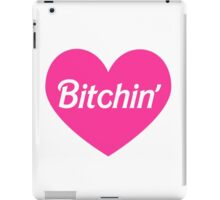 Bitchin' Barbie Pink Heart Design iPad Case/Skin