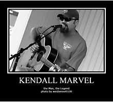 KENDALL MARVEL PORTRAIT1 Photographic Print