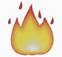 Fire Apple / WhatsApp Emoji Kids Clothes