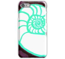 Nautilus Cross-Section iPhone Case/Skin