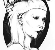 Die Antwoord Tattoo Style Yolandi  by sparklingdark