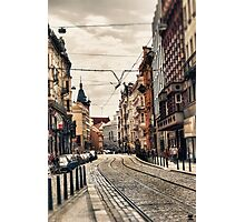 Prague street Photographic Print