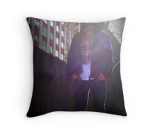Blurr Of the City Throw Pillow