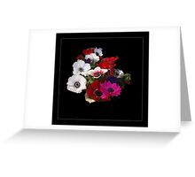 Valentines  flowers    Greeting Card