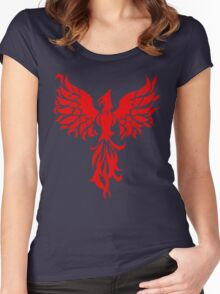 Red Phoenix Women's Fitted Scoop T-Shirt