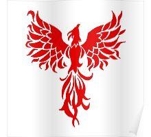 Red Phoenix Poster
