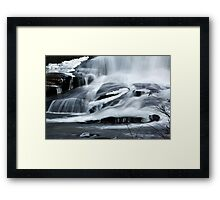 The Base Framed Print