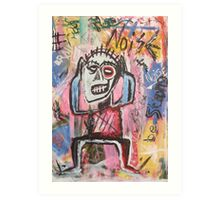 Untitled (Noise) Neo-Expressionism Art Print