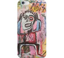 Untitled (Noise) Neo-Expressionism iPhone Case/Skin