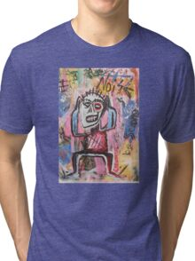 Untitled (Noise) Neo-Expressionism Tri-blend T-Shirt