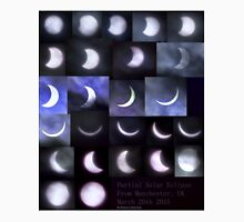 Partial Solar Eclipse Montage Unisex T-Shirt
