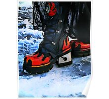 Snow Boots Poster