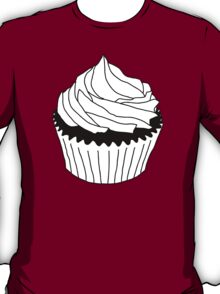 black and white cupcake T-Shirt