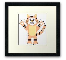 Tuco Tiger Framed Print