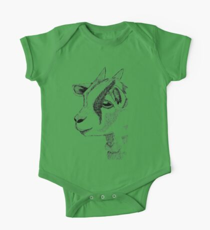Baby Goat One Piece - Short Sleeve