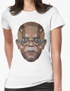 Samuel L. Jackson Womens Fitted T-Shirt