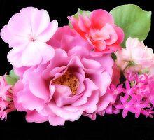 A Bouquet of Pink by Donna Adamski